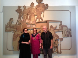 2014 Trip to Islamabad with Project Director Mark Adams, & professors Dianne Hall and Minna Holopainen