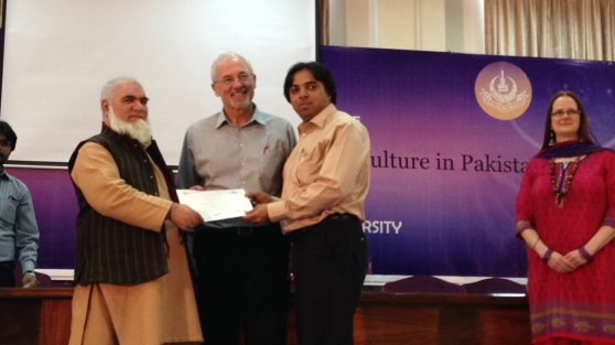 Certificate Ceremony for AIOU Faculty who completed Minna and Diannes Workshops