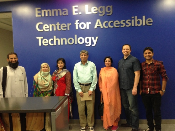 Tour of the Center for Accessible Technology with Ryan Brady