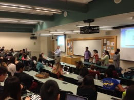 AIOU Faculty Vistors at Professor Rick Kepple's Business course