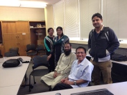AIOU Faculty meeting with Julio Garcia on his multi method of teaching he employs in his CS class